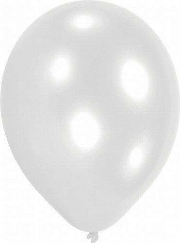 Amscan - 6499 - 100 Ballons Latex Blancs 70 Cm/7''