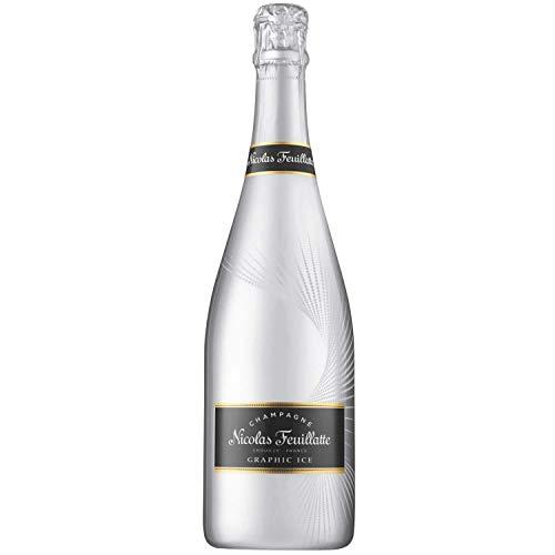 Champagner Nicolas Feuillatte - Grafisches Eis - 1 * 75cl