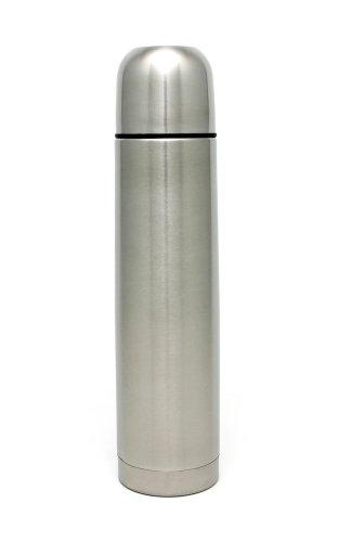 GRÄWE Isolierflasche 1 Liter GLATT, mit KLICK/KLACK-Verschluss
