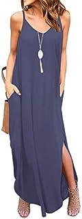 GRECERELLE Women's Summer Casual Loose Dress Beach Cover...