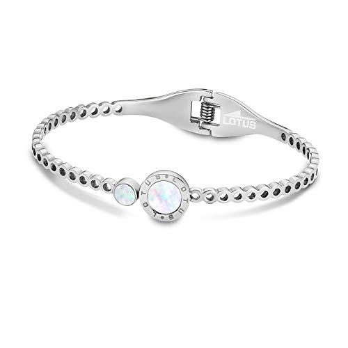 Lotus Style pulsera para mujer LS1790-2/1 acero inoxidable plata D1JLS1790-2-1