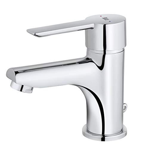 Strohm Teka - Grifo de lavabo PETRA. Monomando de lavabo con sistema...