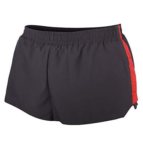 Alivebody Uomo Pantaloncini da Corsa Sportivi Corti da Corsa Bodybuilding Palestra Shorts Sportivi Nero Medium