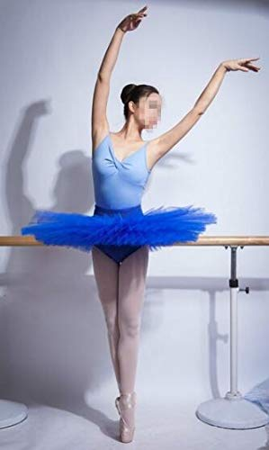 WENDYWU - Tutú de ballet profesional para mujer, 6 capas, sin braguita, color 3, tamaño M