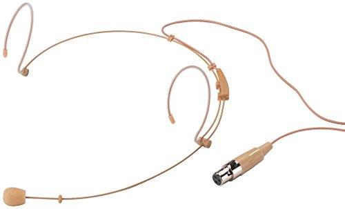 MONACOR HSE-150/SK Ultraleichtes Headset-Mikrofon, hautfarben