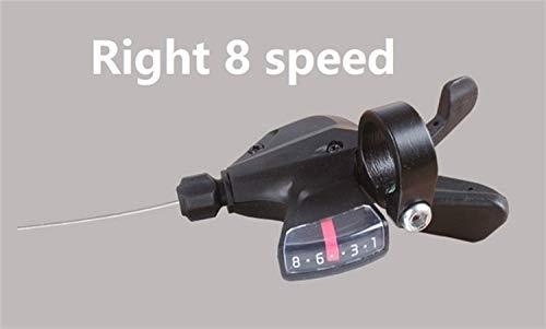 8 Shift 24 Velocidad M310 Palanca de Bicicletas MTB Mountain Bike Shifter...