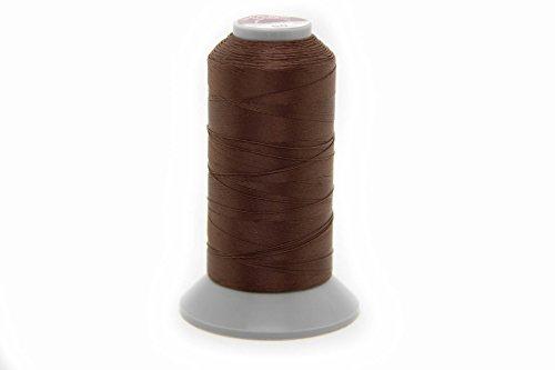 Costuras NTS 1000m Hilo, Piel Hilo 40N, selección de Colores, Filamento para Piel, marrón