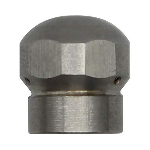 Rohrreinigungsdüse hochdruckreiniger 1/8 1/4 3/8 1/2-250 bar düse für rohrreinigungsschlauch Rohrreiniger Rohrreinigung (1/8 zoll)