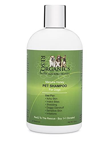 Hypoallergenic Dog Shampoo Ð Organic Aloe & Manuka Honey Soothes Dry...