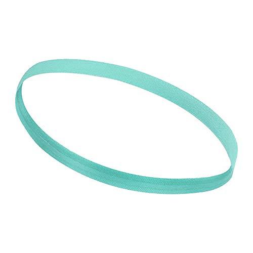 Souarts Sport hoofdbanden haarband elastisch antislip dunne banden gevoerde zweetband voor dames heren 40 cm