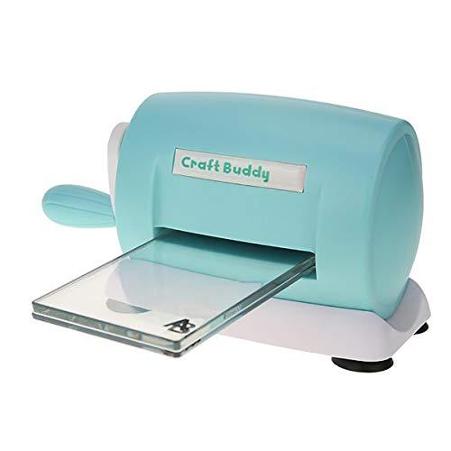 Vilihy DIY Dies Cutting Embossing Machine Paper Card Craft Scrapbooking Dies Machine Cutter Photo Album Decorative Craft(Blue)