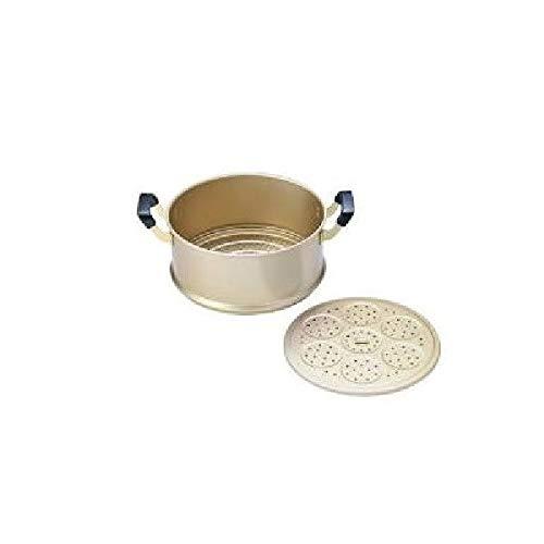 北陸アルミニウム(Hokuriku Alumi) 蒸し器 純しゅう酸 美菜食用 セイロ 28cm ASI9504