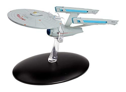 Filmwelt Shop U.S.S. Enterprise NCC-1701 Refit Eaglemoss Collection Modell - Star Trek die Offizielle Sammlung: Ausgabe #2 mit deutschem Magazin