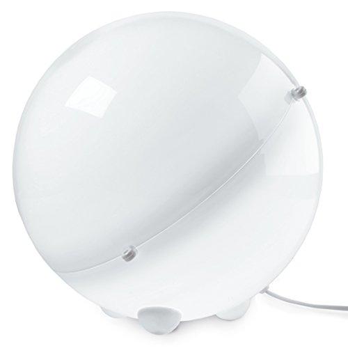 koziol lampe de sol Orion, thermoplastique, blanc, 31,5 x 31,5 x 30,5 cm