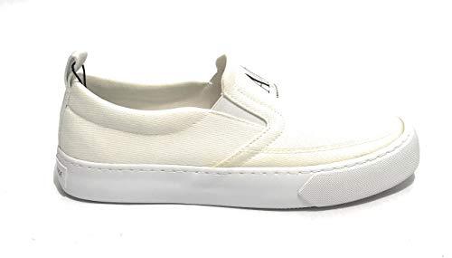 ARMANI EXCHANGE Zapato de hombre blanco XUY003 XV285 U SLI ON tela,...