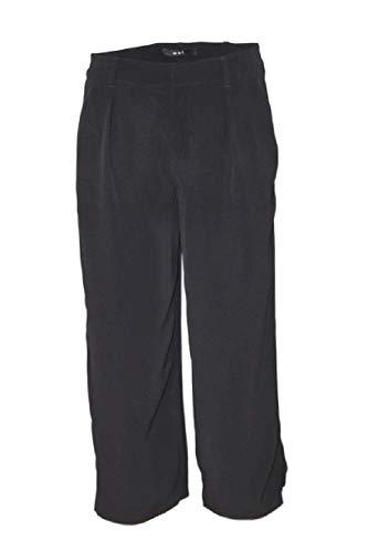Oui 7/8 Hose für Damen aus Viskose, schwarz Gr. 36