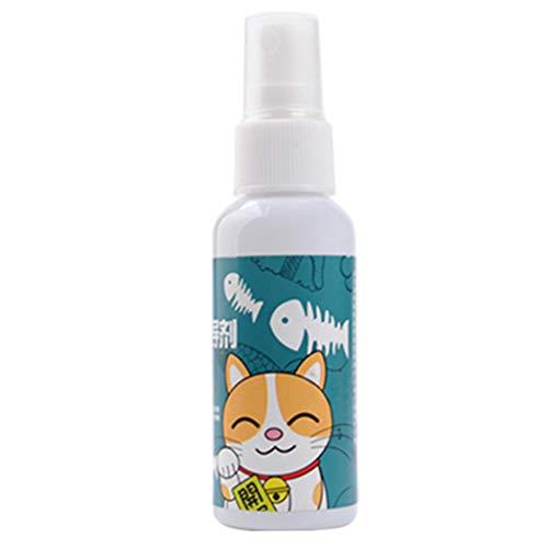 ATATMOUNT 50ml Katzenminze Spray Haustier Training Spielzeug Bio natürliche natürliche gesunde Kätzchen Katze Minze lustige Kratzspielzeug Haustier Zubehör