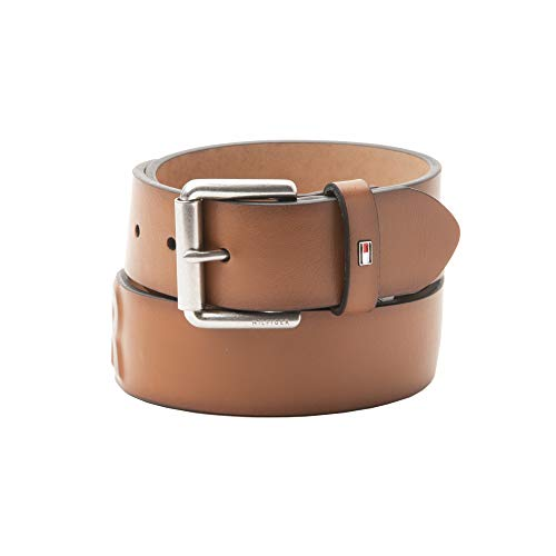 Price comparison product image Tommy Hilfiger Men's Casual Belt,  Tan Deboss,  X-Large (42-44)