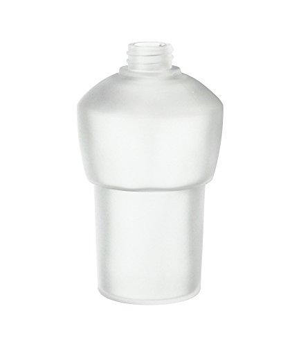 SMEDBO Spare Frosted Glass L372 Milchglasbehälter, weiß, 5.5 x 5.5 x 1.33 cm