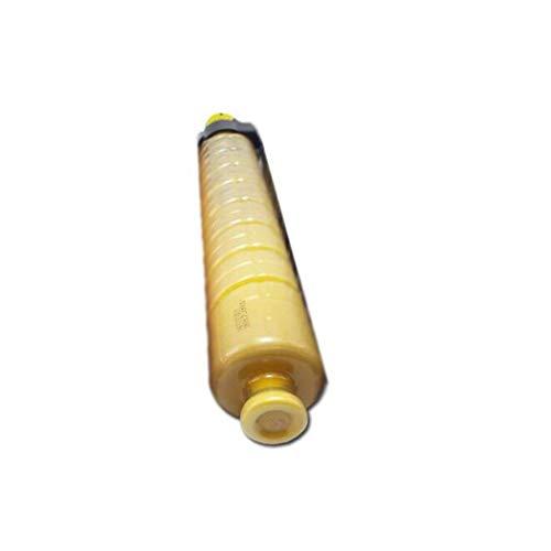 Compatible con el cartucho de tóner de la impresora MPC3504 para MP C3004 MP 3504 Impresora compacta Cartucho de cartucho Rack-con chip, FourColors Páginas: 29500 yellow