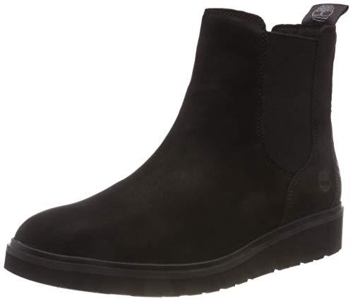 Timberland Damen Ellis Street Chelsea Boots, Schwarz (Jet Black Elko 1), 40 EU