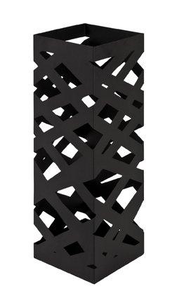 Haku Möbel Schirmständer, 16 x 16 x H: 48 cm, schwarz