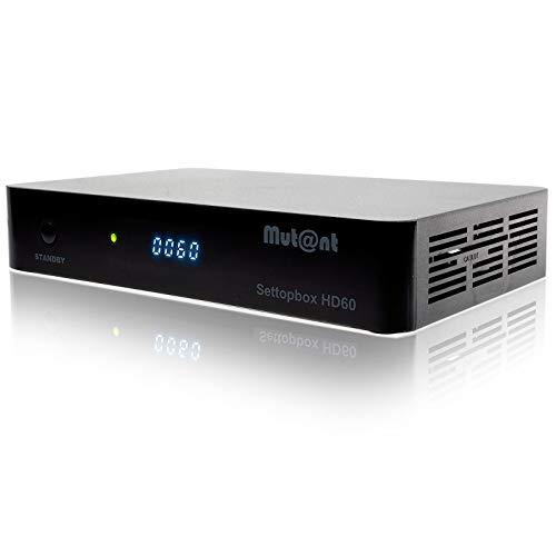 Mutant HD60 4K UHD 1x DVB-S2X MS Linux Sat Receiver