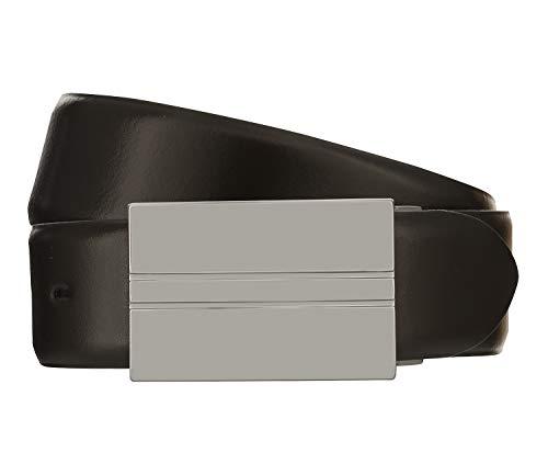 LLOYD Men's Belts Gürtel Herrengürtel Ledergürtel Braun 8101, Länge:105, Farbe:Braun