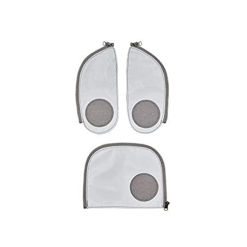 ergobag pack Sicherheitsset - Sicherheitsset, 3-teilig - Reflex - Silber
