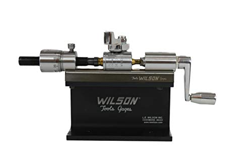 L.E. Wilson CT-SSKIT Case Trimmer Kit Stainless Steel with Micro Adjustment,...