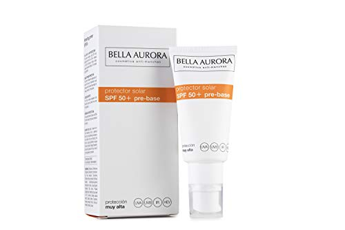 Bella Aurora Protector Solar Facial SPF +50 | Crema de protección Solar Anti-edad | Anti-manchas | Anti-oxidante, 30 ml