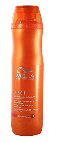 Wella Professionals Enrich unisex, Volumen Shampoo für feines bis normales Haar 250 ml, 1er Pack (1 x 1 Stück)