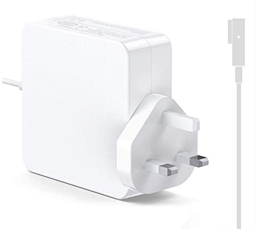 Replacement 60W Mag safe Power Adapter Magnetic L-Tip Connector Charger for Mac Book and 13-inch Mac Book Pro(Before Mid 2012 Models)
