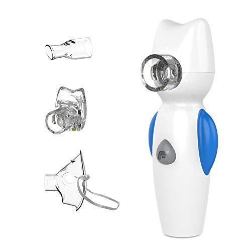 Inhalator, Tragbar Vernebler, mit Musik-Funktion, mit Maske und Mundstück für Kinder, für Atemwegserkrankungen