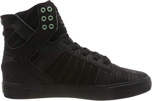 Supra Skytop, Zapatillas de Skateboard Unisex Adulto, Negro (Black/Hedge-Black-M 50), 42.5 EU