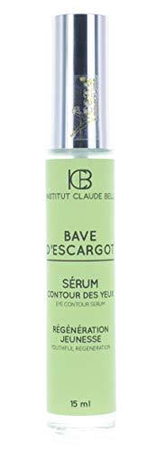 Bave D´Escargot Augenkonturserum (15ml) Crema de Caracol Con Natural Alantoína, Colágeno Y Elastina- Baba