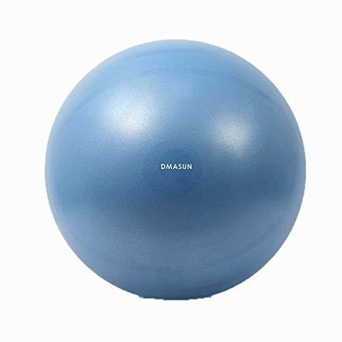 Yoga Ball LHY DM Gymnastikball Hebamme Gewicht verlieren Balance Ball Fitness Sport- und Fitnessball Explosionssicher Bequem (Color : A, Size : 55cm)