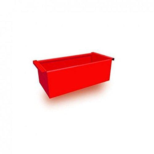 FireFox 0004187 zandbak, groot, rood, 20 x 65 x 30 cm