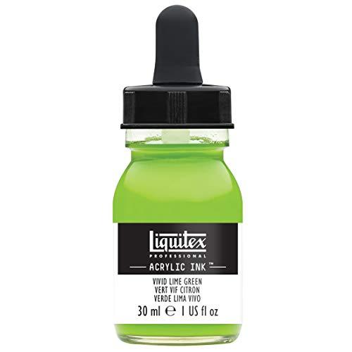 Liquitex 4260740 , Vivid Lime Green Professional Acrylic Ink 1-oz jar