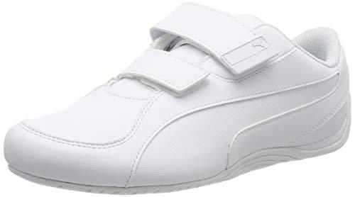 Puma Drift Cat 5 AC, Scarpe da Ginnastica Unisex-Adulto, Bianco White White, 45 EU