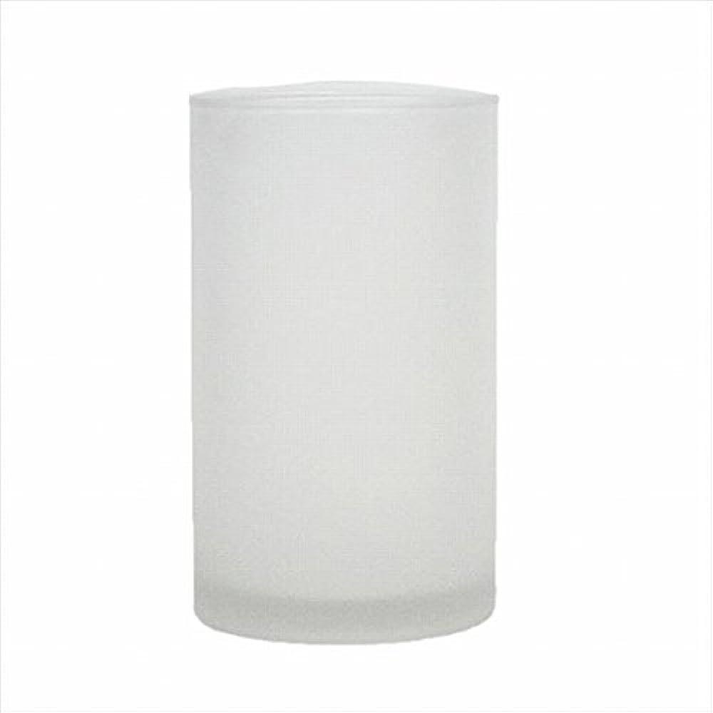 節約認証葉を集めるカメヤマキャンドル(kameyama candle) モルカグラスSフロスト
