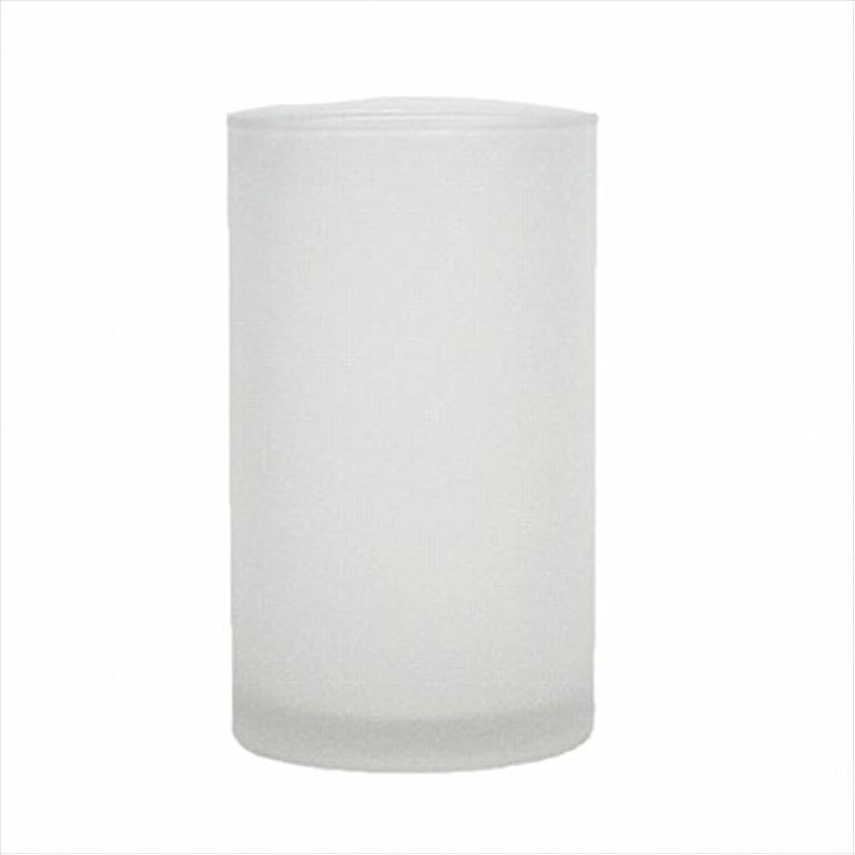 お誕生日否定する遮るカメヤマキャンドル(kameyama candle) モルカグラスSフロスト