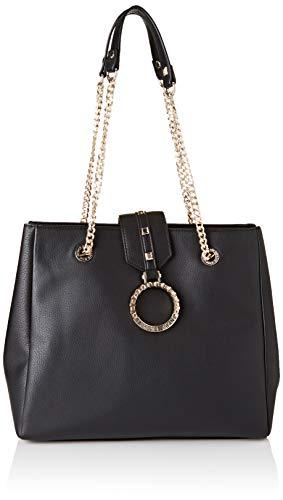 Versace Jeans Bag, Borsa a Spalla Donna, Nero, 14x29x32.5 cm (W x H x L)