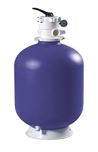 EDENEA - Filtre à Sable pour Piscine 14m3/h diam 615 - Filtre à Sable Piscine - 14m3/h - Diamètre 565mm - Fourni avec Vanne Top sur Le Dessus - Modèle AXOS XEO - EDG by Aqualux