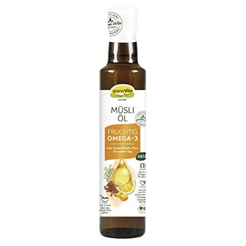 granoVita Bio Müsli Öl Fruchtig, 250ml