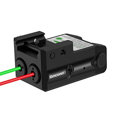 Gmconn Tactical Green Laser Sights Aluminium Shell Red Dot Laser Gun Sight for Pistols Glock