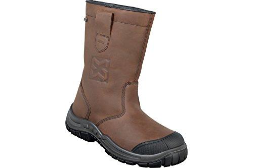 WÜRTH MODYF Sicherheitsstiefel S3 HRO HI CI Orion braun: Der zertifizierte Schuh ist in Größe 43 verfügbar. Innovativen, modern & robuste - perfekt für Außenbereiche geeignet.
