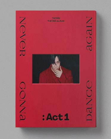 Taemin Shinee - Never Gonna Dance Again : Act 1 (Vol.3) Album+Folded Poster+Extra Photocards Set (Suspect ver.)