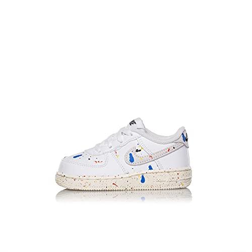 Nike Air Force 1 LV8 3 Toddler DJ2600-100 White Sail Scarpa Bimbo Unisex (23.5 - White)