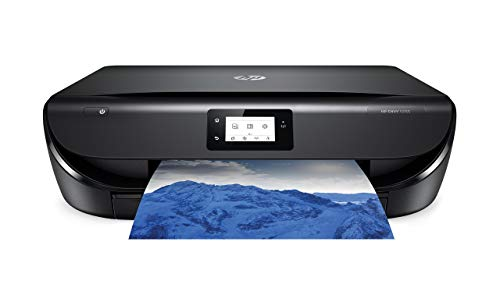 HP Envy 5055 Wireless All-in-One Photo Printer, HP Instant Ink & Amazon Dash Replenishment Ready (M2U85A) (Renewed)